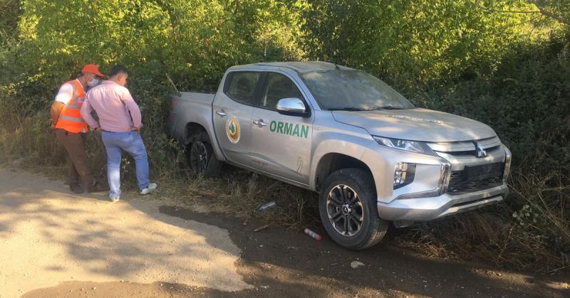 Amasya - Taşova Karayolu Dörtyol Köyü Mevki'nde Trafik Kazası