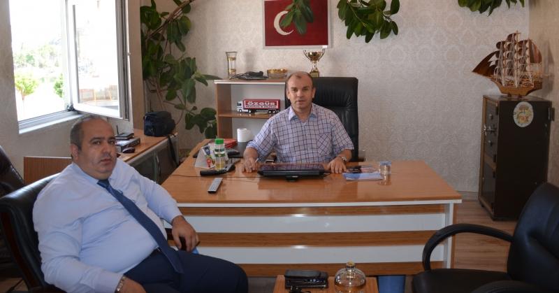 ASDERKON Kurucu Heyet Başkanı Karataş'dan, Ali Rıza Ağış'a Ziyaret