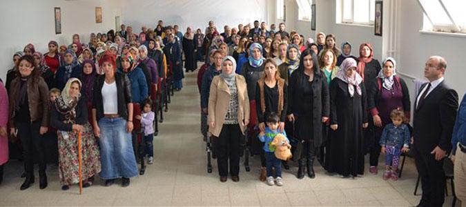 Atatürk Orta Okulun da Veli Toplantısı Düzenlendi.