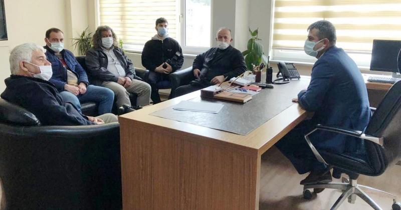 Basın Mensupları, Emniyet Mensuplarının Polis Haftasını Kutladı