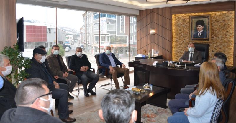 Başkan Adayı Sayar, TAŞÇEV'i Ziyaret Etti