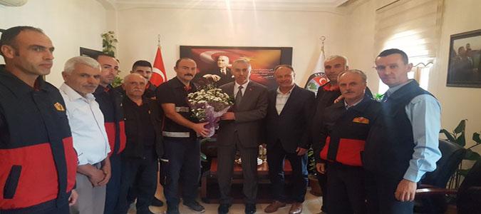 Başkan Öztürk İtfaiyeciler Günü'nü Kutladı