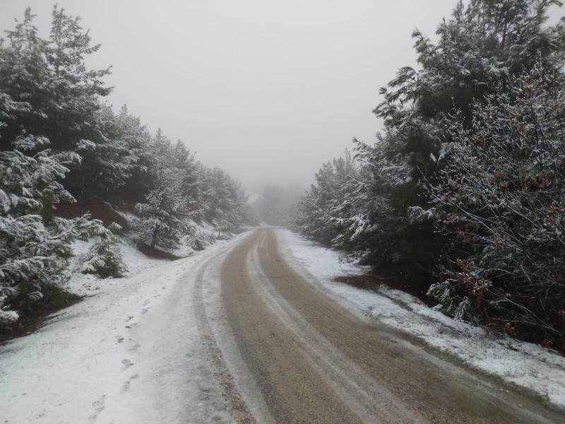 Beklenen Kar Köylere Düşmeye Başladı