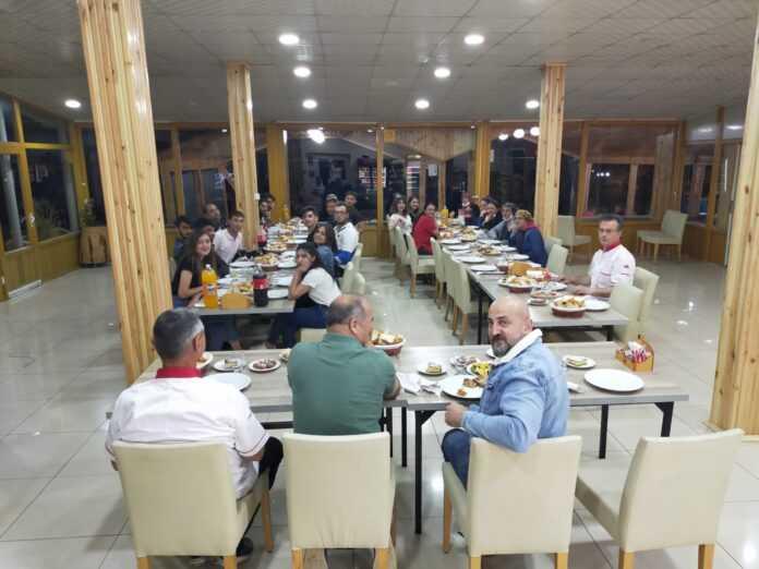 Boraboy Gölü Çalışanlarına Sezon Sonu Teşekkür Yemeği Düzenlendi