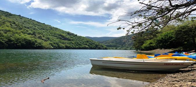 Boraboy Gölü Sessizliği ve Sakinliği ile Kampçıları Doğasına Çekiyor