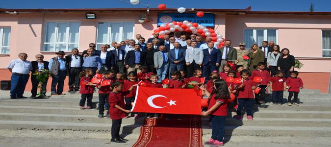 Boraboy İlkokulu Yapılan Törenle Açıldı
