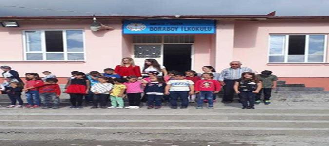 Boraboy İlkokulu Tekrar Eğitim-Öğretime Açıldı