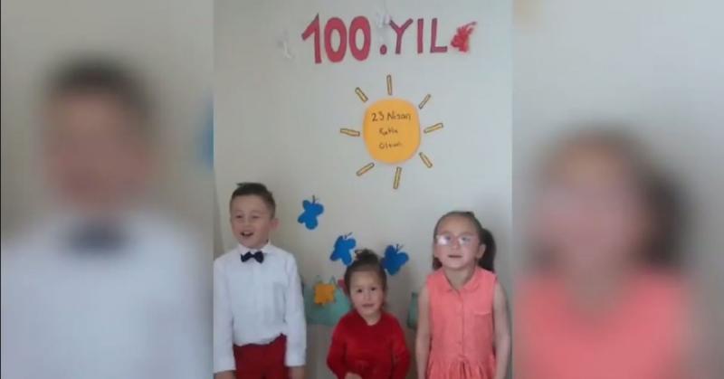 Boraboy'lu Çocuklardan 23 Nisan Videosu