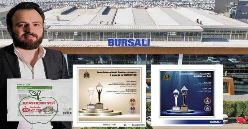 Bursalı Tekstil'e Uluslararası 9 Ödül