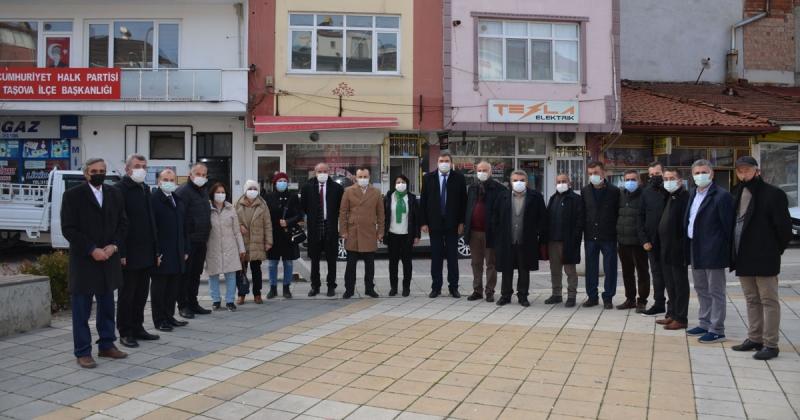CHP Amasya İl ve İlçe Teşkilatları, İmza Kampanyasına Destek Verdi
