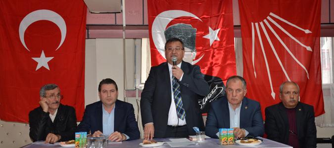 CHP DANIŞMA KURULU VE DEĞERLENDİRME TOPLANTISI YAPILDI