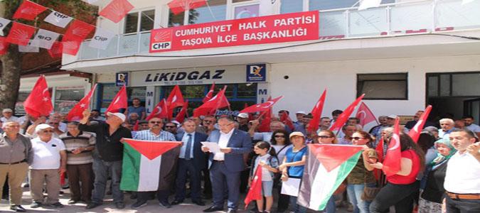 CHP'den İSRAİL, AMERİKA'ya ve ERDOĞAN'a TEPKİ..