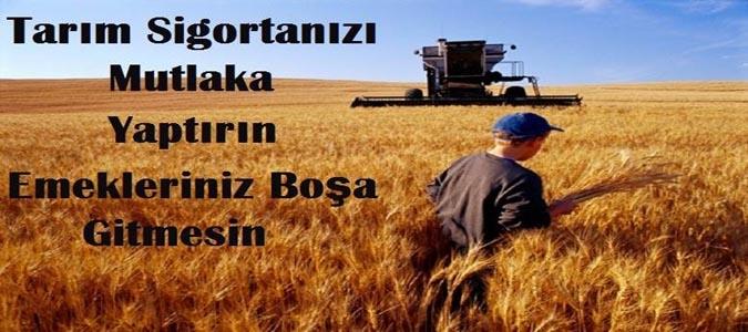 Çiftçilere Tarım Sigortası Anlatıldı