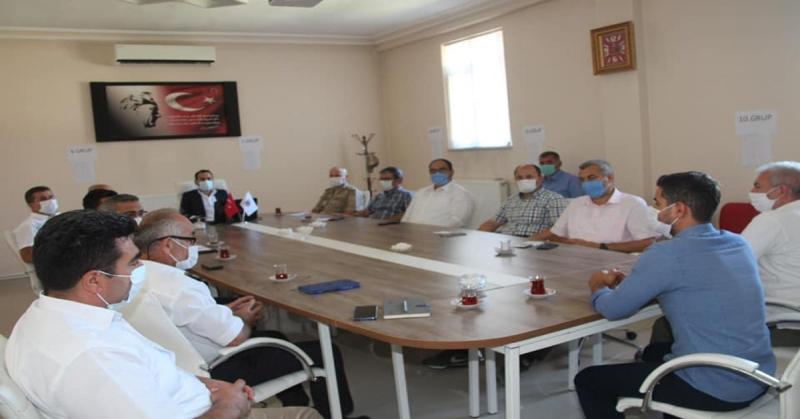 Covid-19 Ek Tedbirler Toplantısı Yapıldı