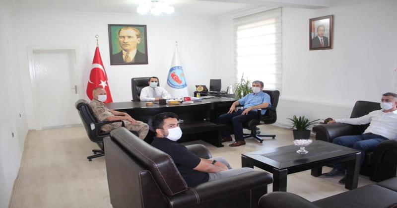 Covid -19 Salgın Durum Toplantısı Yapıldı