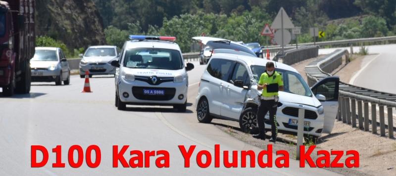 D 100 Kara Yolunda Kaza
