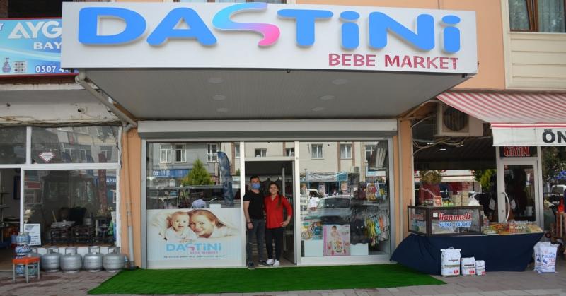 Dastini Bebe Market Mağazası Açıldı