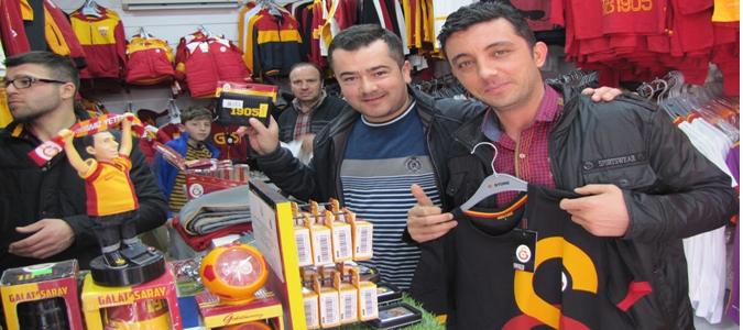 Derbi öncesi Galatasaray Tır'ı Taşova'da