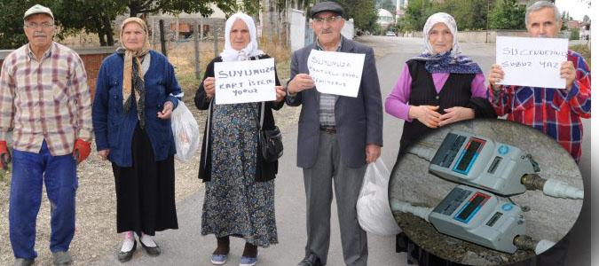 Destek Köyü Ön Ödemeli Su Sayacı İstemiyor..