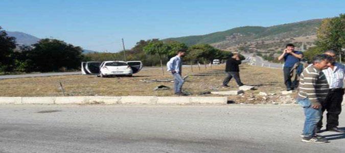 Dörtyol Kavşağında Trafik Kazası