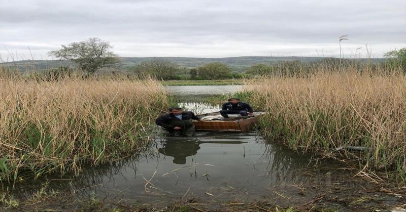 Dörtyol'da Germe Ağı ile Yasadışı Balık Avlayanlar  Yakanladı