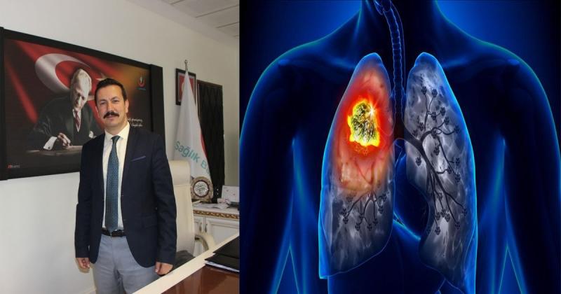 Dr Nergiz; 'Akciğer kanseri ülkemizde ve dünyada erkeklerde en sık görülen kanser türüdür'