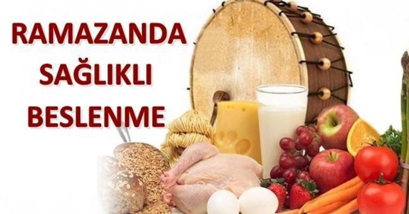 Dr. Nergiz; 'Ramazan ayını sağlıklı ve zinde geçirmek için beslenme kalkanı oluşturun'
