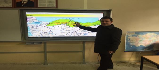 Fatih Projesi Atatürk Orta Okulunda Gerçekleşiyor..!