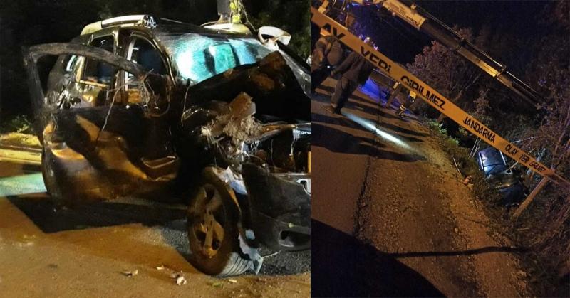 Geydoğan-Dereli Yolu Arası Trafik Kazası: 1 Kişi Hayatını Kaybetti