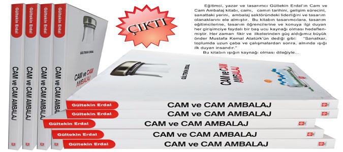 Gültekin Erdal'ın Cam ve Cam Ambalaj Adlı Kitabı Yayınlandı