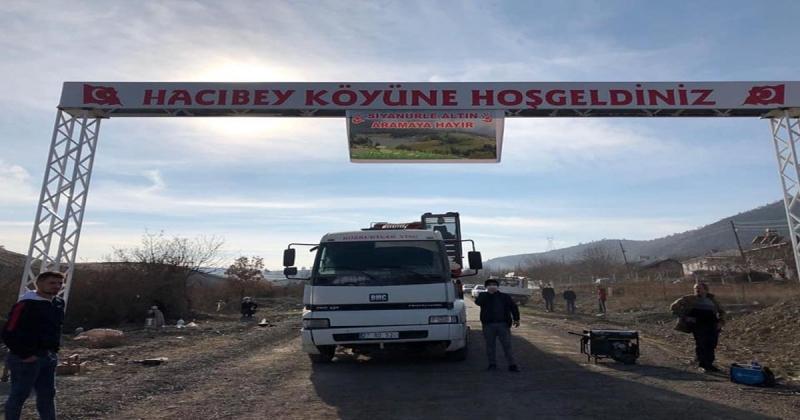 Hacıbey Köyü Siyanürle Altın Aranmasına Karşı