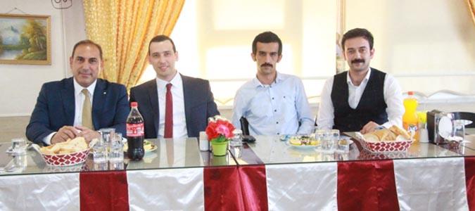Hakim Yıldızhan ve Savcı Mor İçin Veda Programı Düzenlendi