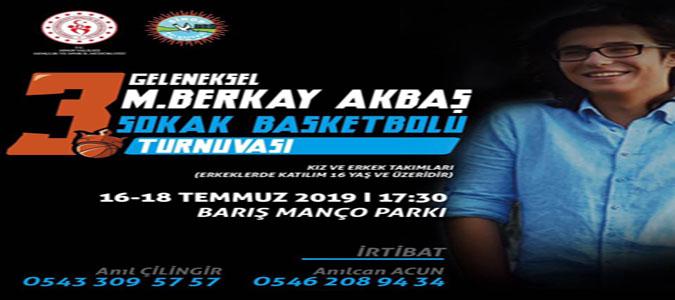 Hemşehrimiz M. Berkay Akbaş Anısına Anlamlı Turnuva