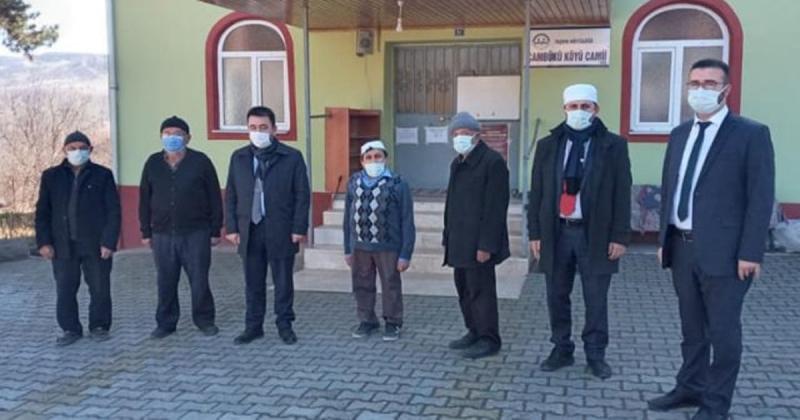 İl Müftüsü Ayvaz, Çambükü Köyünü Ziyaret Etti