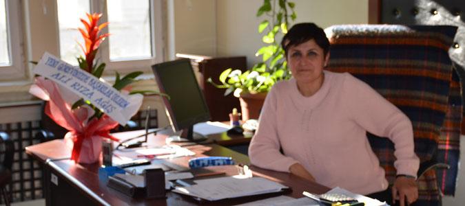 İlçe Milli Eğitim Şube Müdürü Benan Faydacı göreve başladı