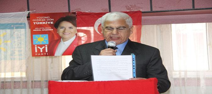 İYİ Parti Taşova İlçe Teşkilatı 2. Olağan Genel Kurul Toplantısını Yaptı