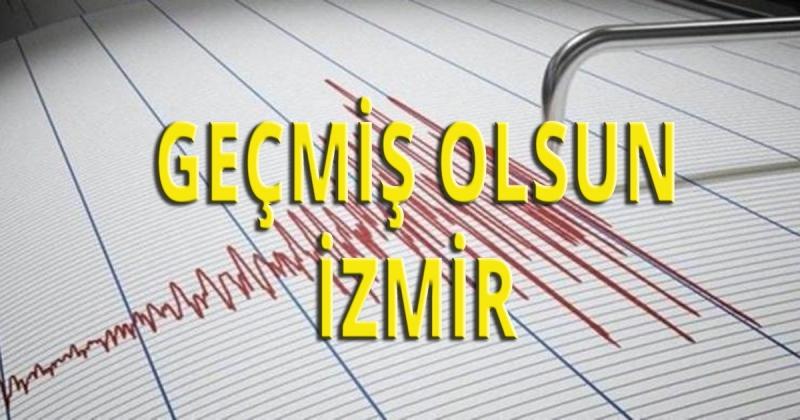 İzmir'de  6.6 Şiddetinde Deprem Oldu