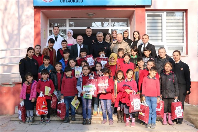 Jandarma'dan Uluköy Ortaokulu'na Ziyaret