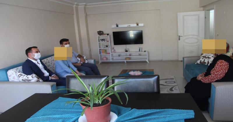 Kaymakam Çelik Bayram Öncesi Şehit ve Gazi Çocuklarını Ziyaret Etti