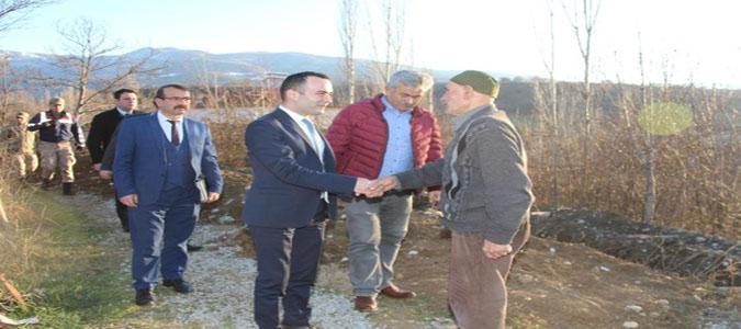 Kaymakam Çelik, Geydoğan Köyünü Ziyaret Etti