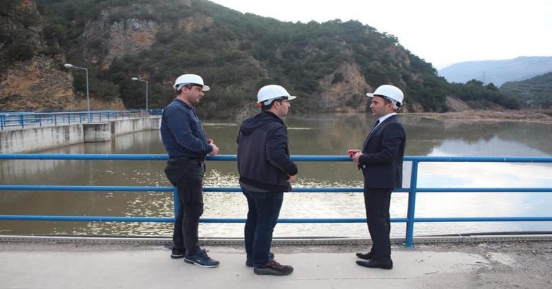 Kaymakam Çelik, Osmancık Hidroelektrik Santralini Ziyaret Etti