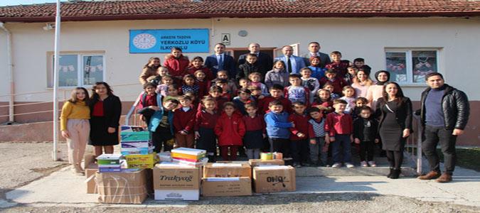 Kaymakam Çelik'den Köy Okulu Ziyareti