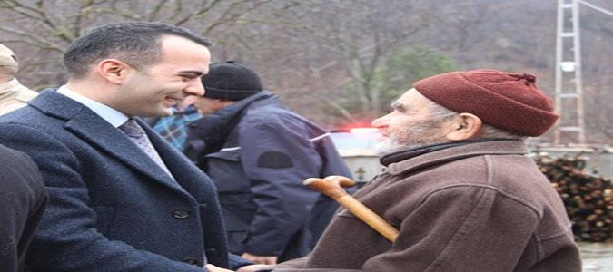 Kaymakam Çelik'in Köy Ziyaretleri Devam Ediyor