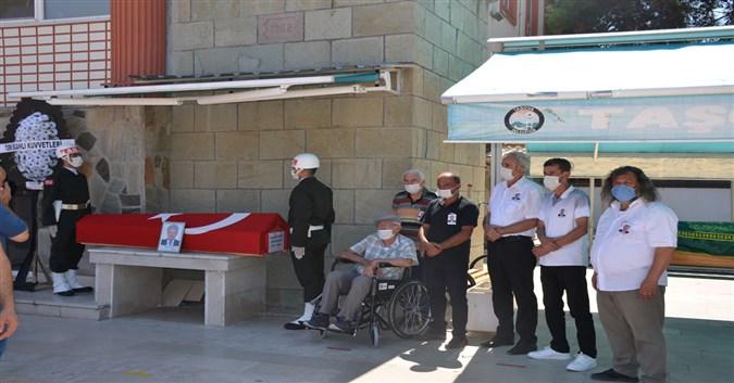 Kıbrıs Gazisi Abdullah Küçük Son Yolculuğuna Uğurlandı