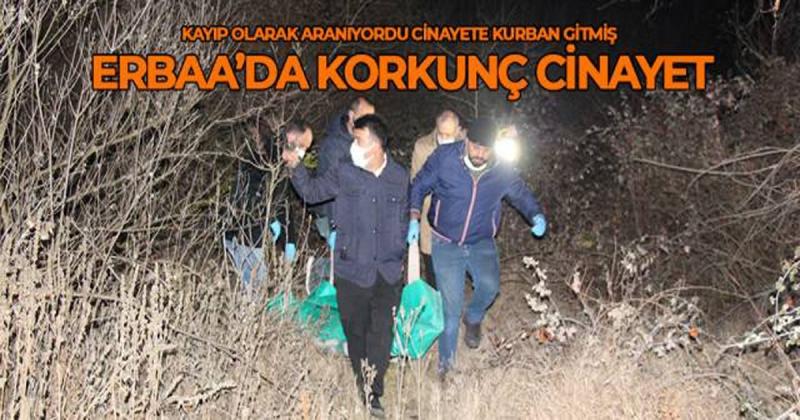 Komşu İlçe Erbaa'da Korkunç Cinayet
