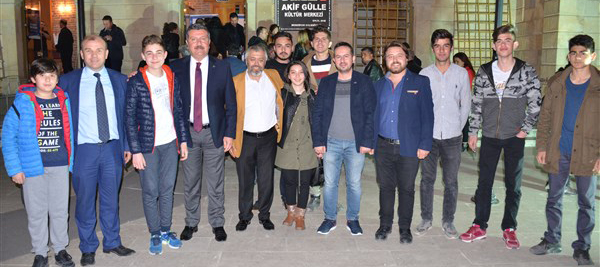 Kotinos Drama Merzifon Tiyatro Festivalinde