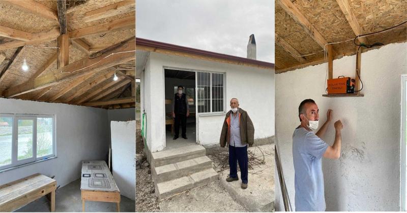 Köy Tipi Ekmek Fırınının Elektrik Sorunu Çözüldü