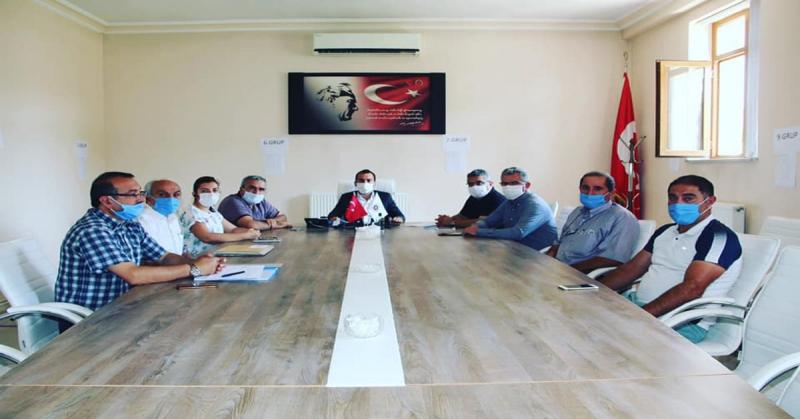Köylere Hizmet Götürme Birliğince 11 Köyün İhalesi Yapıldı