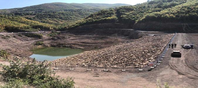 Kumluca Sulama Göleti Su Tutmaya Başladı