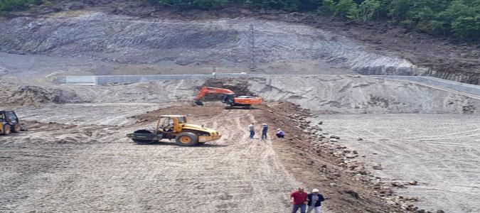 Kumluca Sulama Göleti İnşaatında Sona Geliniyor